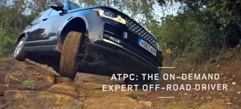 Illustration for article titled 2015 Range Rover's Off-Road Cruise Control Makes Any Idiot A Hero Driver