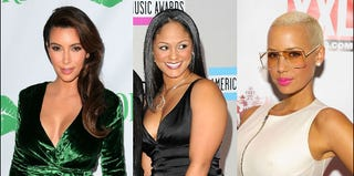 Kim Kardashian (Frederick M. Brown/Getty); Maliah Michel (Jason Merritt/Getty); Amber Rose (Michael Stewart/Getty)
