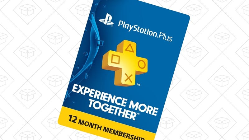 PlayStation Plus, $48 or $50 on Amazon