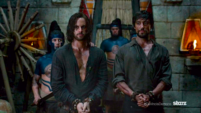 Illustration for article titled Leonardo sails to the New World in new Da Vinci's Demons trailer