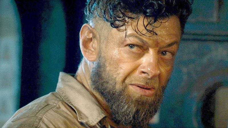 Andy Serkis as Ulysses Klaue in Avengers: Age Of Ultron