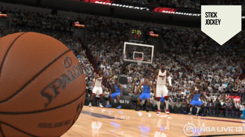 Illustration for article titled First Look at NBA Live 13 Shows a Game Making Great Passes—Even the Bad Ones