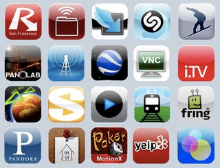 Illustration for article titled Gizmodo's 20 Essential iPhone Apps