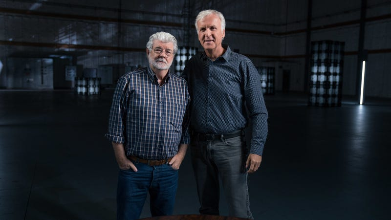 George Lucas and James Cameron tell us The Story Of Science Fiction