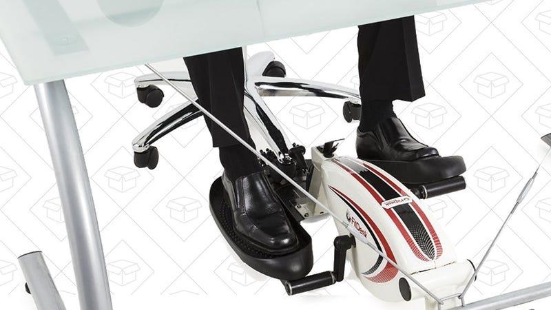 FitDesk Under Desk Elliptical Trainer, $63