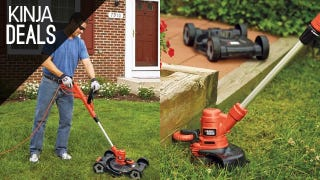 Illustration for article titled This $77 Electric Edger Doubles As a Lawn Mower