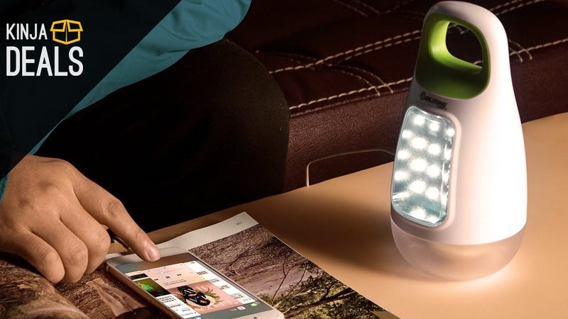 Illustration for article titled This LED Camping Lantern Can Also Recharge Your Phone