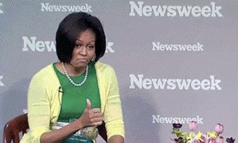 Illustration for article titled Michelle Obama Is Mildly Impressed With Your Work