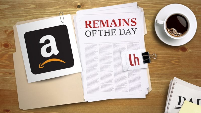 Illustration for article titled Remains of the Day:Amazon Wants to Judge Your Outfit