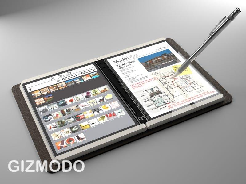 Illustration for article titled Courier: First Details of Microsoft's Secret Tablet