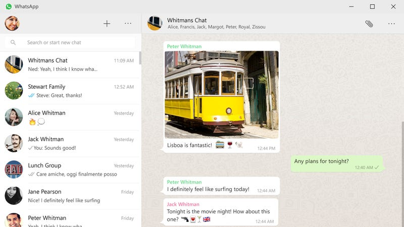 Illustration for article titled WhatsApp Releases Desktop Apps For Windows and Mac