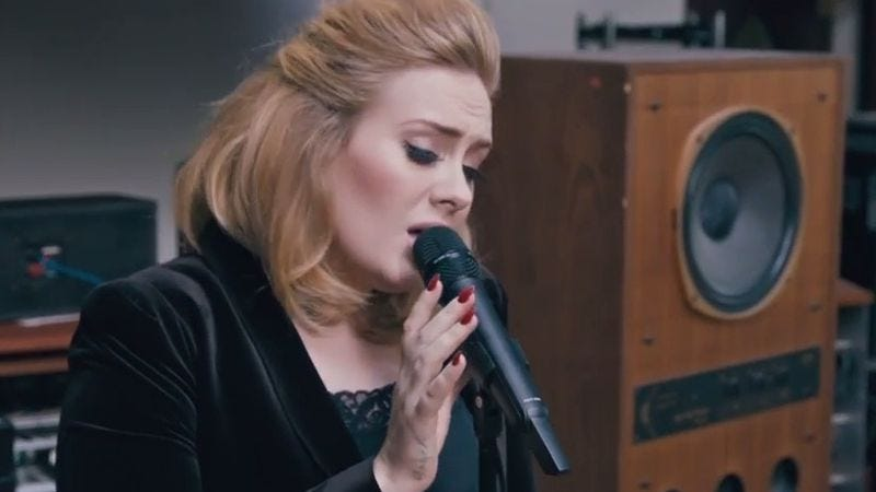 """Illustration for article titled Adele releases new single, """"When We Were Young"""""""