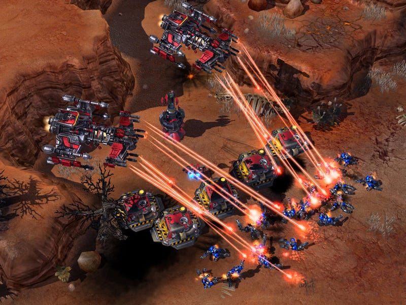 Illustration for article titled Yes, Blizzard Is Still Aiming To Release StarCraft II This Year
