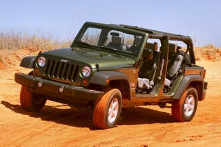 Jeep Is Always The Answer Only Second To Miata. Why Is This You May Ask?  Because The Doors Come Off.