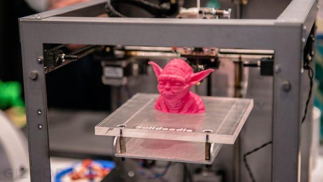 3d printed yoda head
