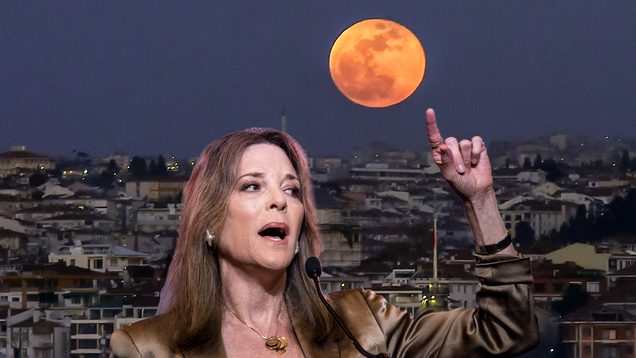 Marianne Williamson Wants the Hexing Witches of TikTok to Dream Bigger Than the Moon