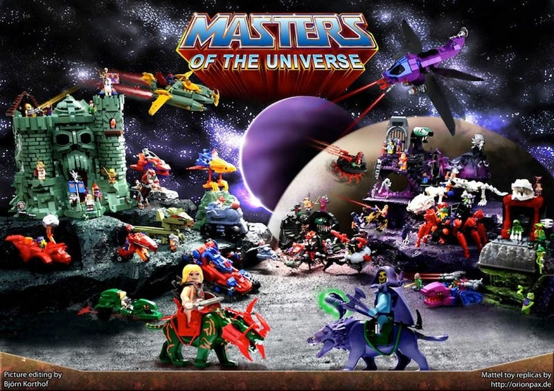 Illustration for article titled This massive Lego Masters of the Universe line needs to be real