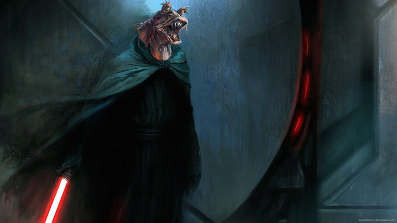 Illustration for article titled Ahmed Best Is a Darth Jar Jar Truther