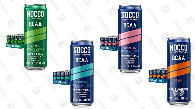30% Off Nocco BCAA Energy Drinks | Amazon