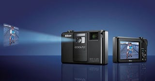Illustration for article titled Official Specs and Prices for New Nikon Coolpix Line, Including Mutant Projector-Camera