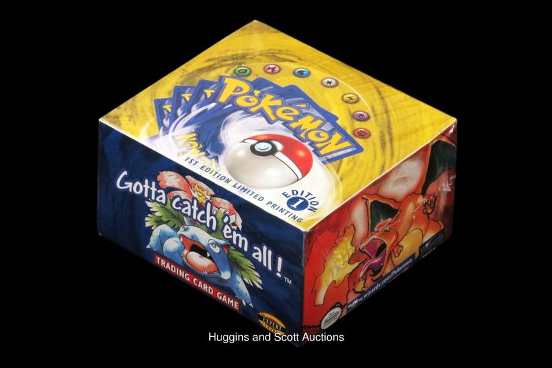 Unopened Box Of 1999 Pokemon Cards Sells For 56 000