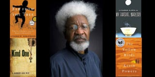 Wole Soyinka and books by other winners of 78th Annual Anisfield-Wolf Book Awards (Loyola Marymount University)