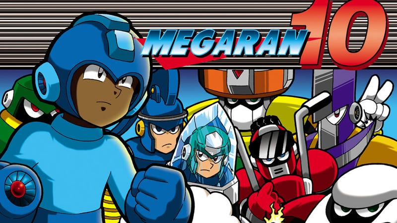 Illustration for article titled Mega Man & Rap Music Were Made for Each Other