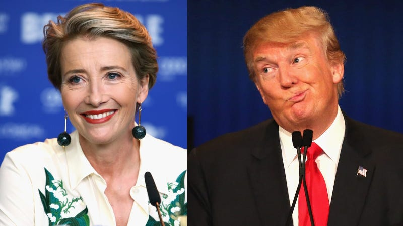 Emma Thompson Donald Trump