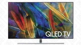 "Televisores Samsung Q7F 55-75"" | $1498-$3298 | AmazonTelevisor Samsung Q9F 65"" | $3298 | Amazon"