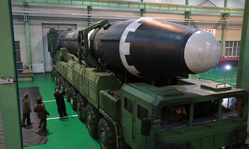 El nuevo misil nuclear de Corea del Norte es tan grande que podría poner en órbita sus propias naves tripuladas