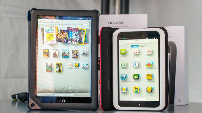 Illustration for article titled Barnes & Noble Is Going to Stop Making Nook Tablets