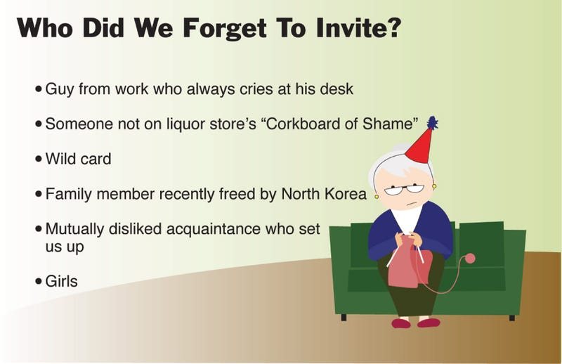 Illustration for article titled Who Did We Forget To Invite?