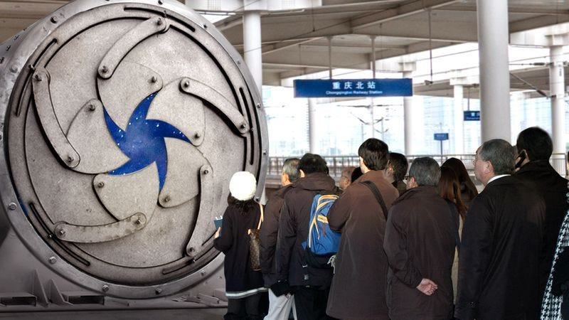 Illustration for article titled Tokyo Portal Outage Delays Millions Of Japanese Warp Commuters