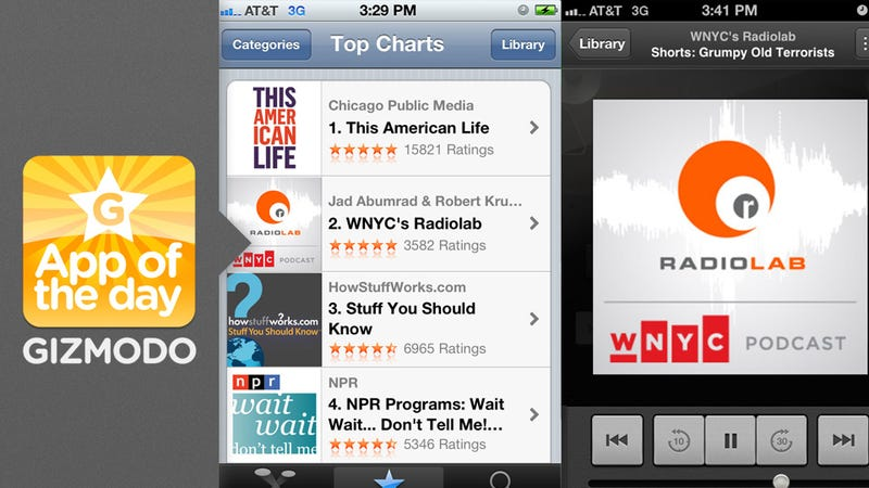 Illustration for article titled Podcasts: Apple's Standalone App Arrives Ahead of iOS 6