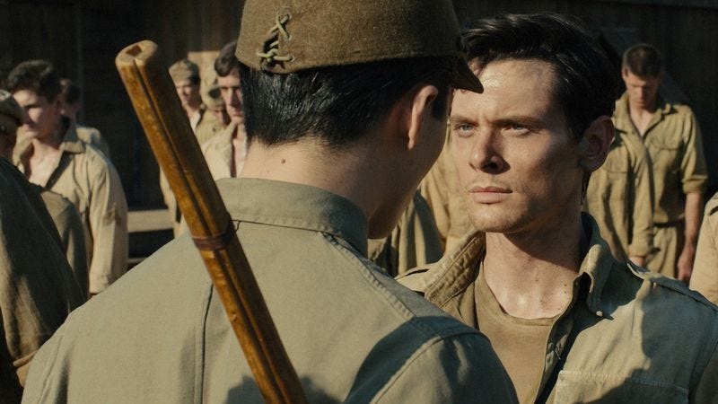 Illustration for article titled Angelina Jolie's Unbroken is an unintentionally campy POW biopic