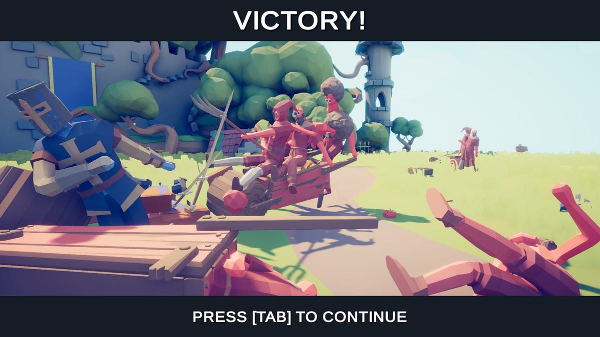totally accurate battle simulator old version