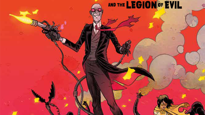Image: Sherlock Frankenstein and the Legion of Evil #1 cover by David Rubín.