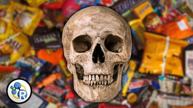 Use This Formula to Figure Out About How Much Candy It Would Take to Kill You