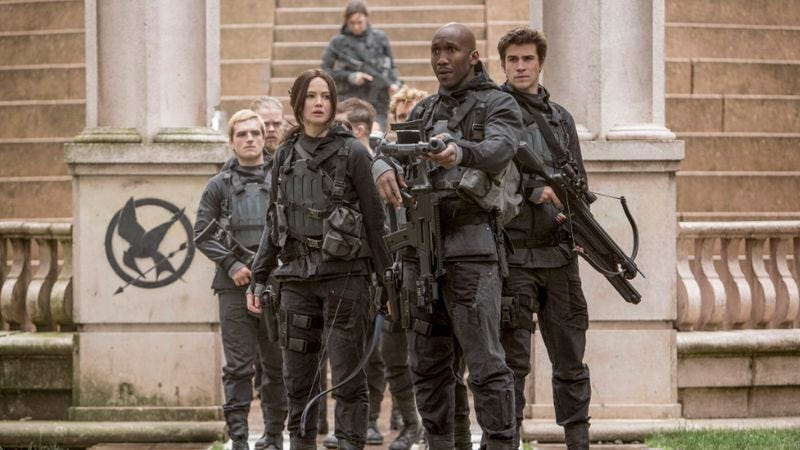 """Illustration for article titled Weekend Box Office: Another year, another Hunger Games """"disappoints"""""""