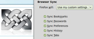 Illustration for article titled Weave 1.0 Syncs Nearly Everything About Your Firefox Setup