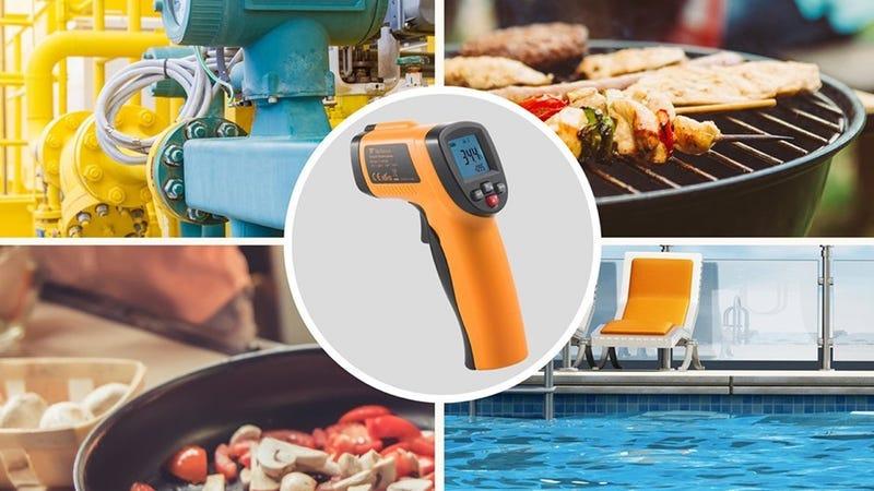 TaoTronics IR Thermometer | $12 | Amazon | Promo code KINJAUJK