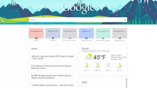 Illustration for article titled Bring a Google Now-Style Home Page to Chrome