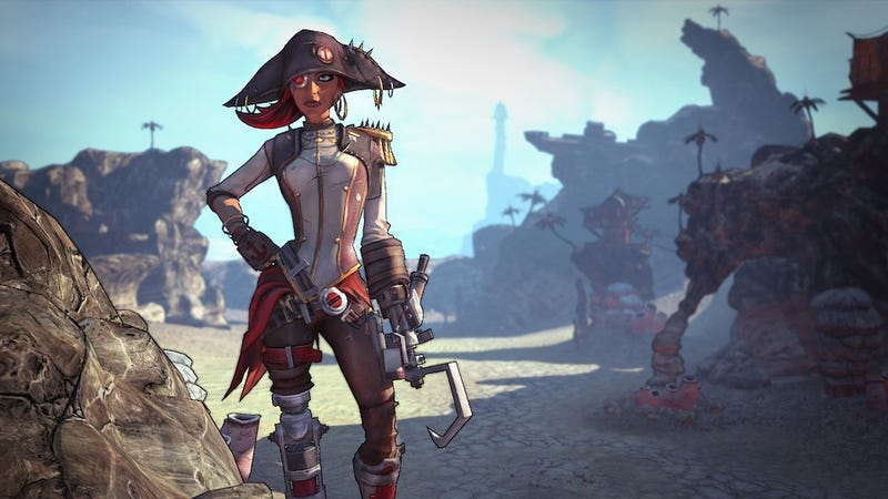Illustration for article titled Borderlands 2's First, Pirate-Packed Campaign DLC Is Out October 16