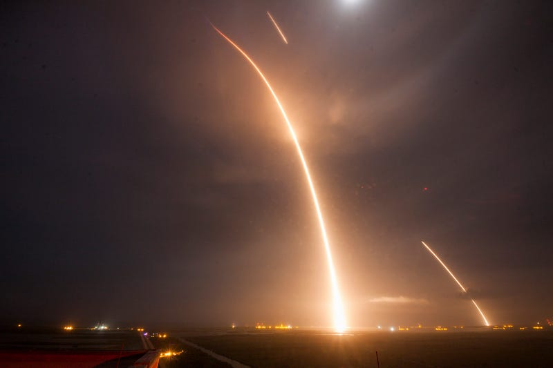 Watch: SpaceX Has Sent A Rocket To Space And Back To Earth