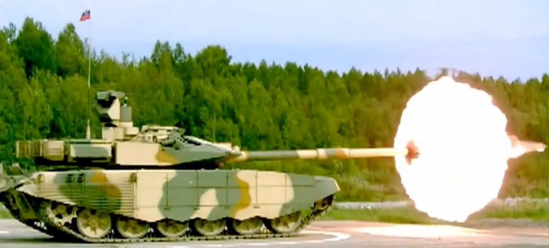 This SlowMotion Russian Tank Video Feels Surprisingly Sexual