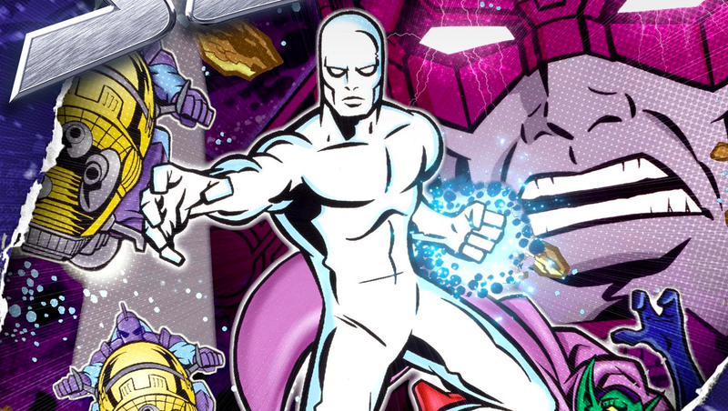 Cover of the Silver Surfer: The Animated Series DVD Set.