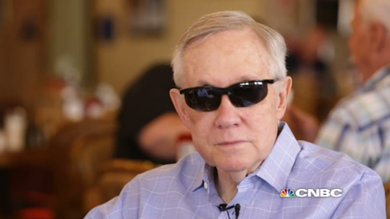 Illustration for article titled Harry Reid on GOP Dudes Running For President: 'They're All Losers'
