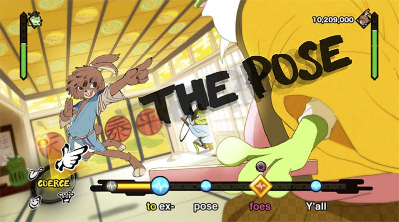 Illustration for article titled Project Rap Rabbit Is A Rhythm Game With RPG-Style Rap Battles