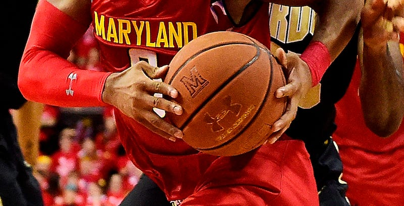 Illustration for article titled Players Keep Complaining About Maryland's Under Armour Balls