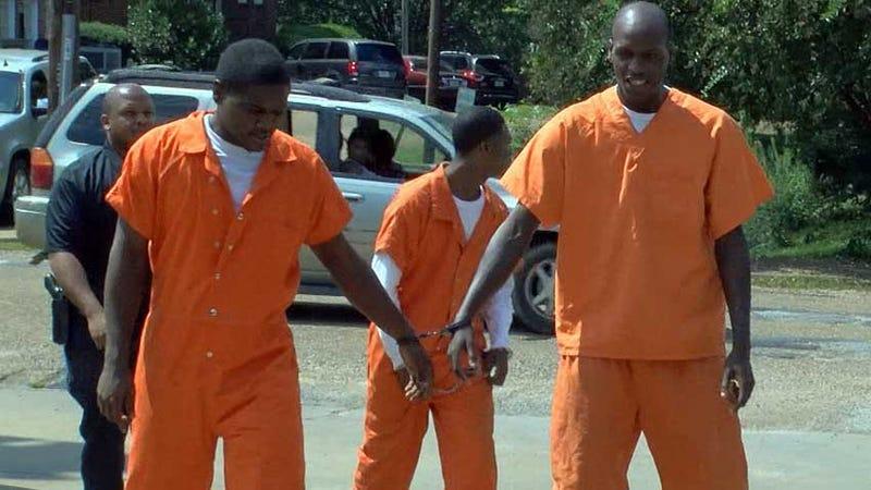 Levontaye Ellington, Travis Baker and Maurice Robertson (Mississippi News Now screenshot)